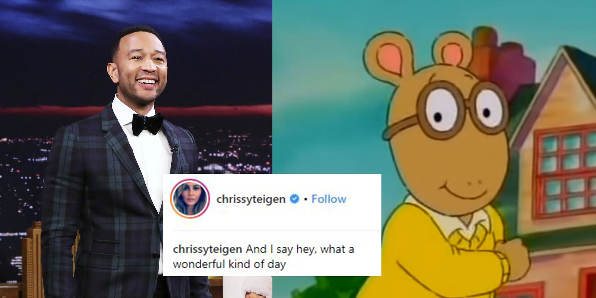 John Legend will cover the 'Arthur' theme song after wife