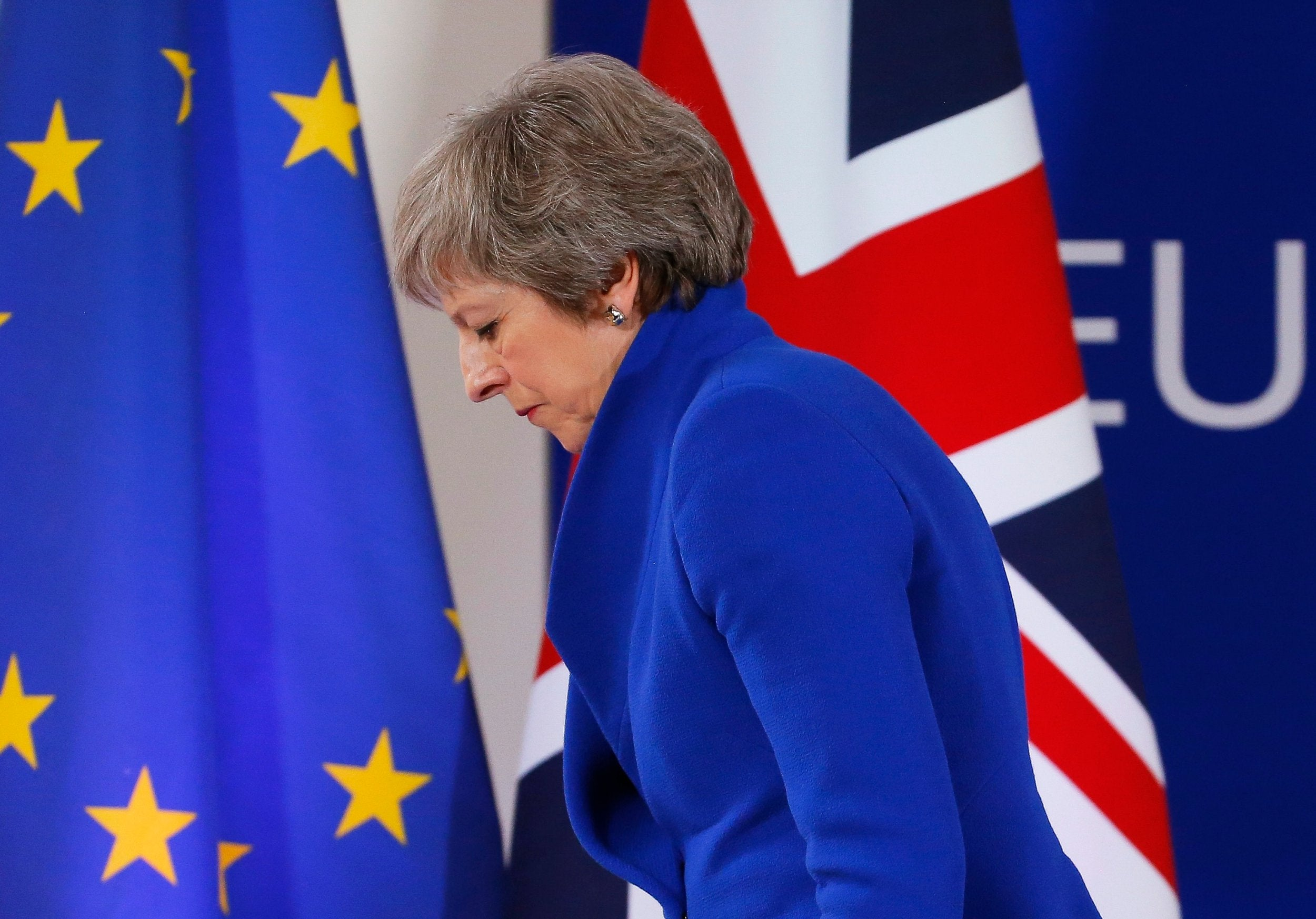 Theresa May's plan to let MPs veto Brexit backstop would 'rip up withdrawal agreement', Brussels warns