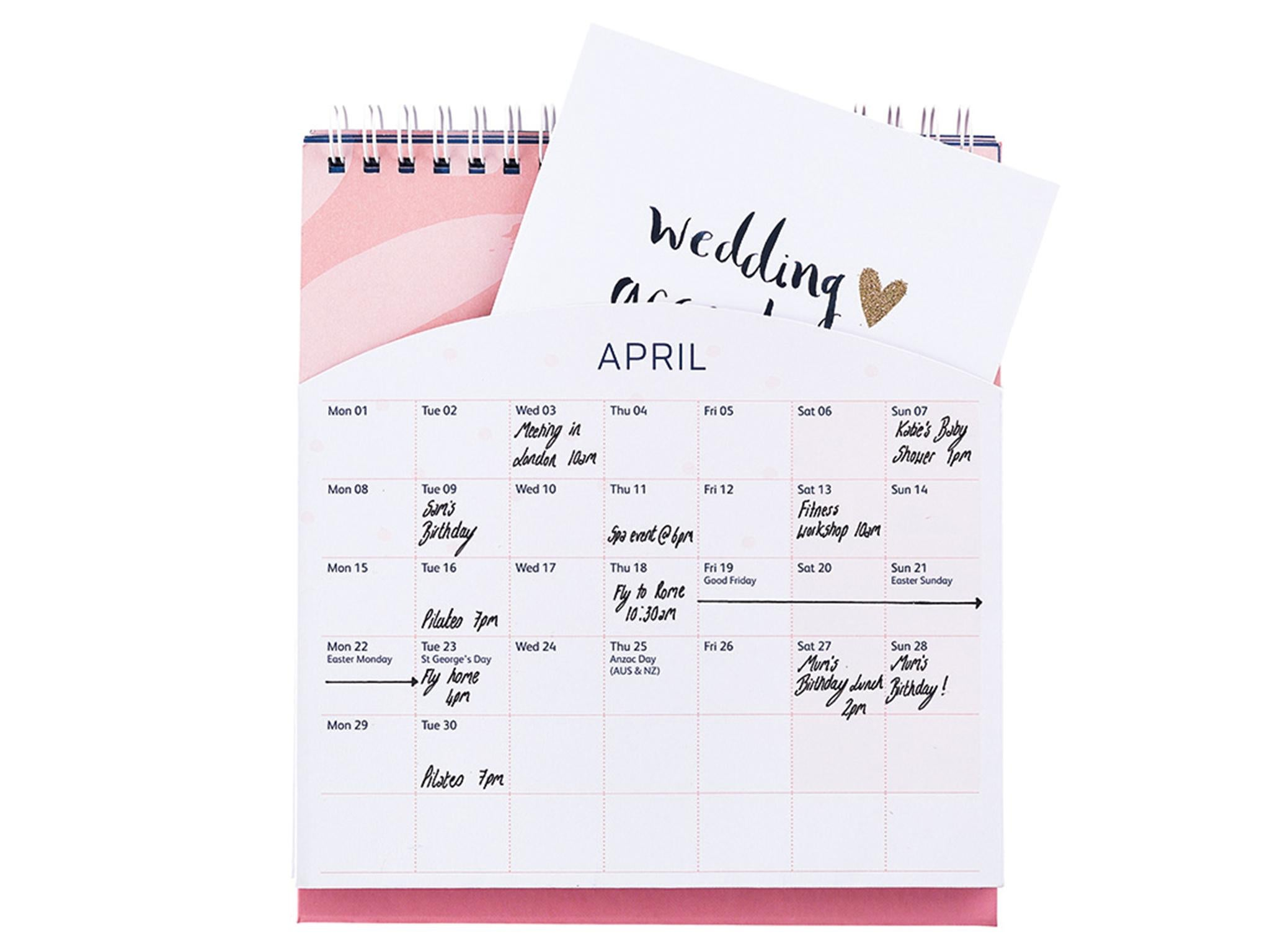 2018 diary floral weekly amp monthly schedule diary at a glance