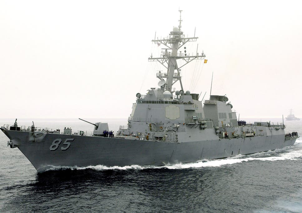 US sails warship near Russia-claimed waters in Sea of Japan to