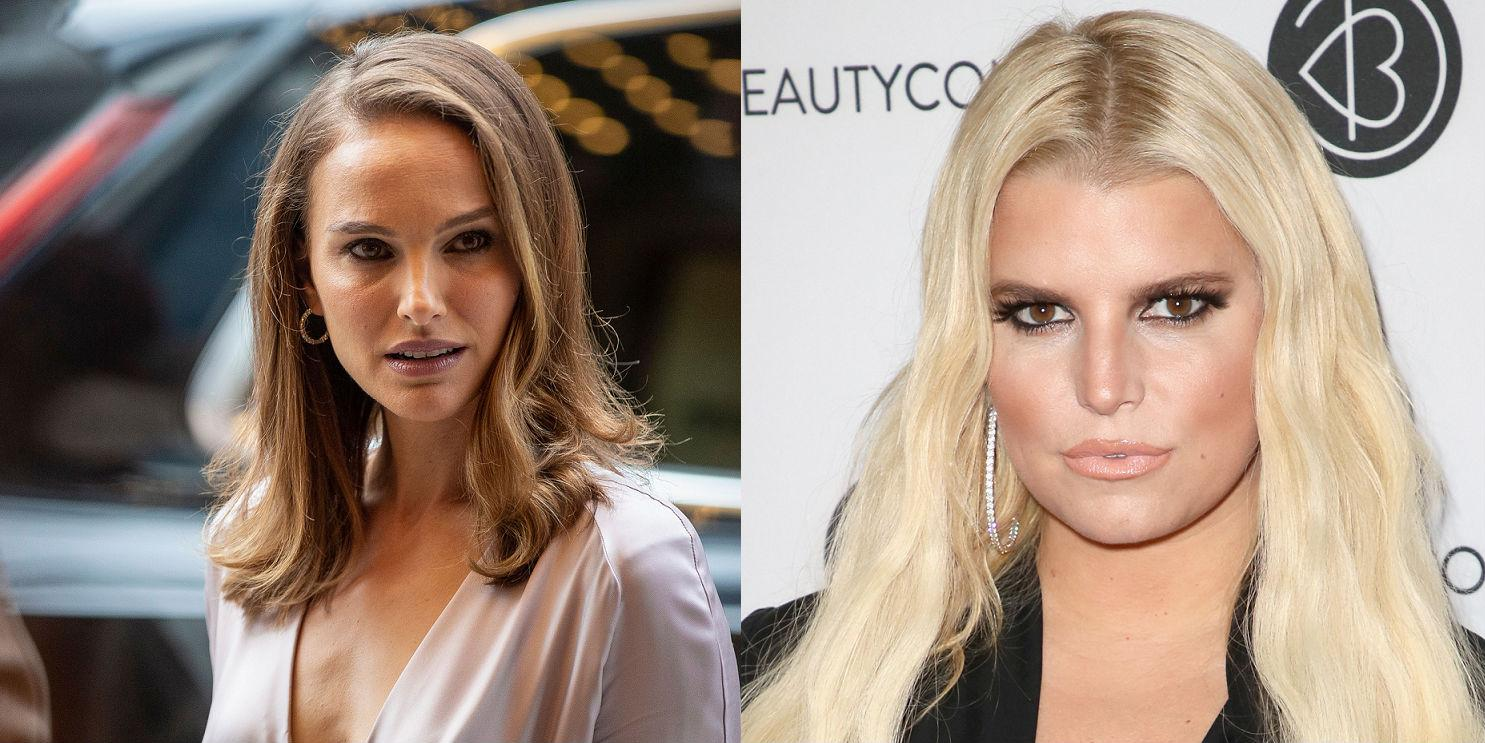 1a5453ff087ef Natalie Portman says she didn't mean to 'shame' Jessica Simpson in that  1999 bikini photo