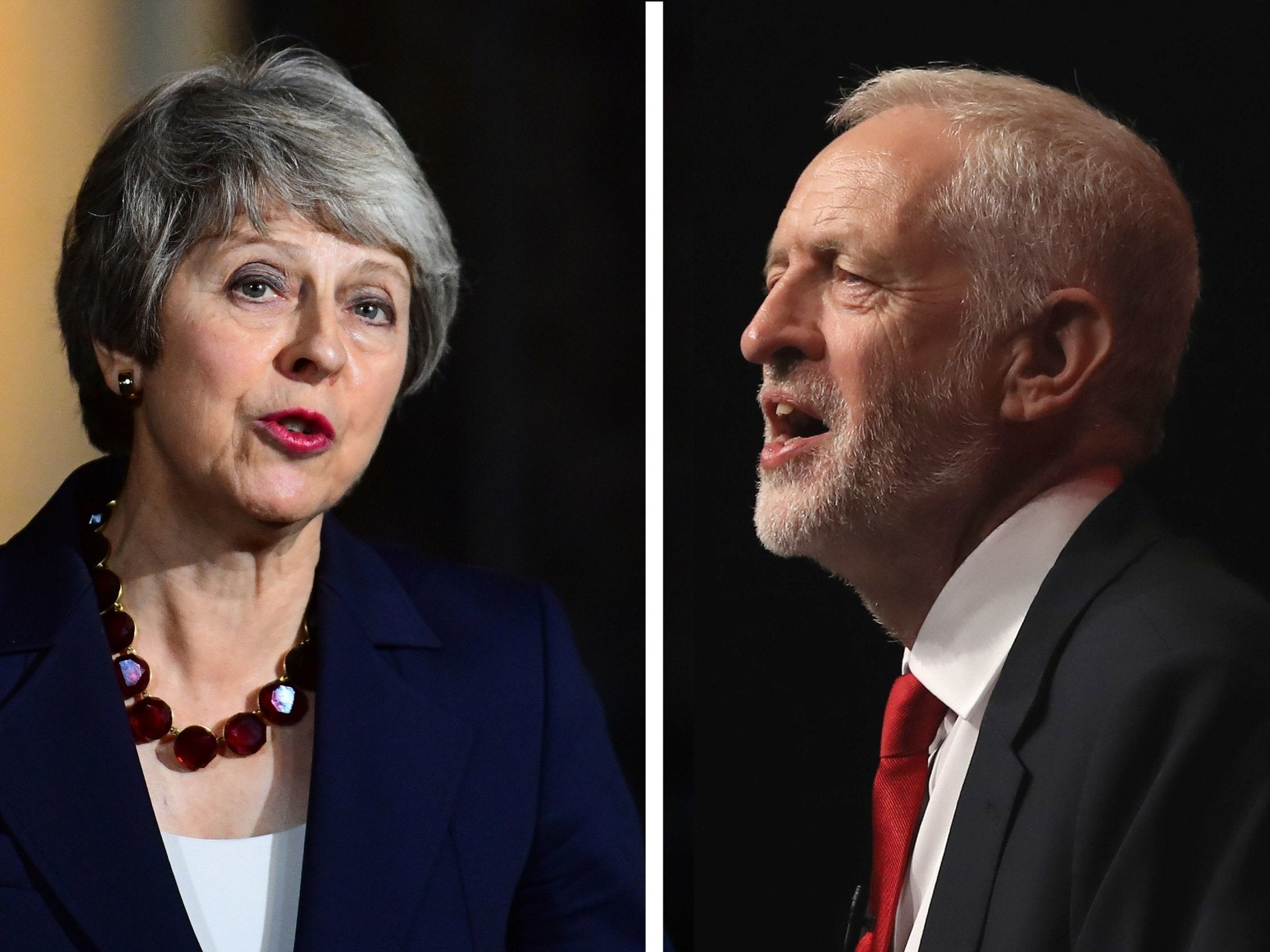 Brexit: ITV Cancels Plans for a Television Debate between Theresa May and Jeremy Corbyn - The Independent