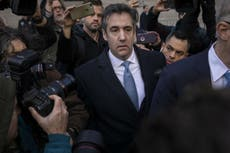 Trump's ex-lawyer Michael Cohen sentenced to three years in prison