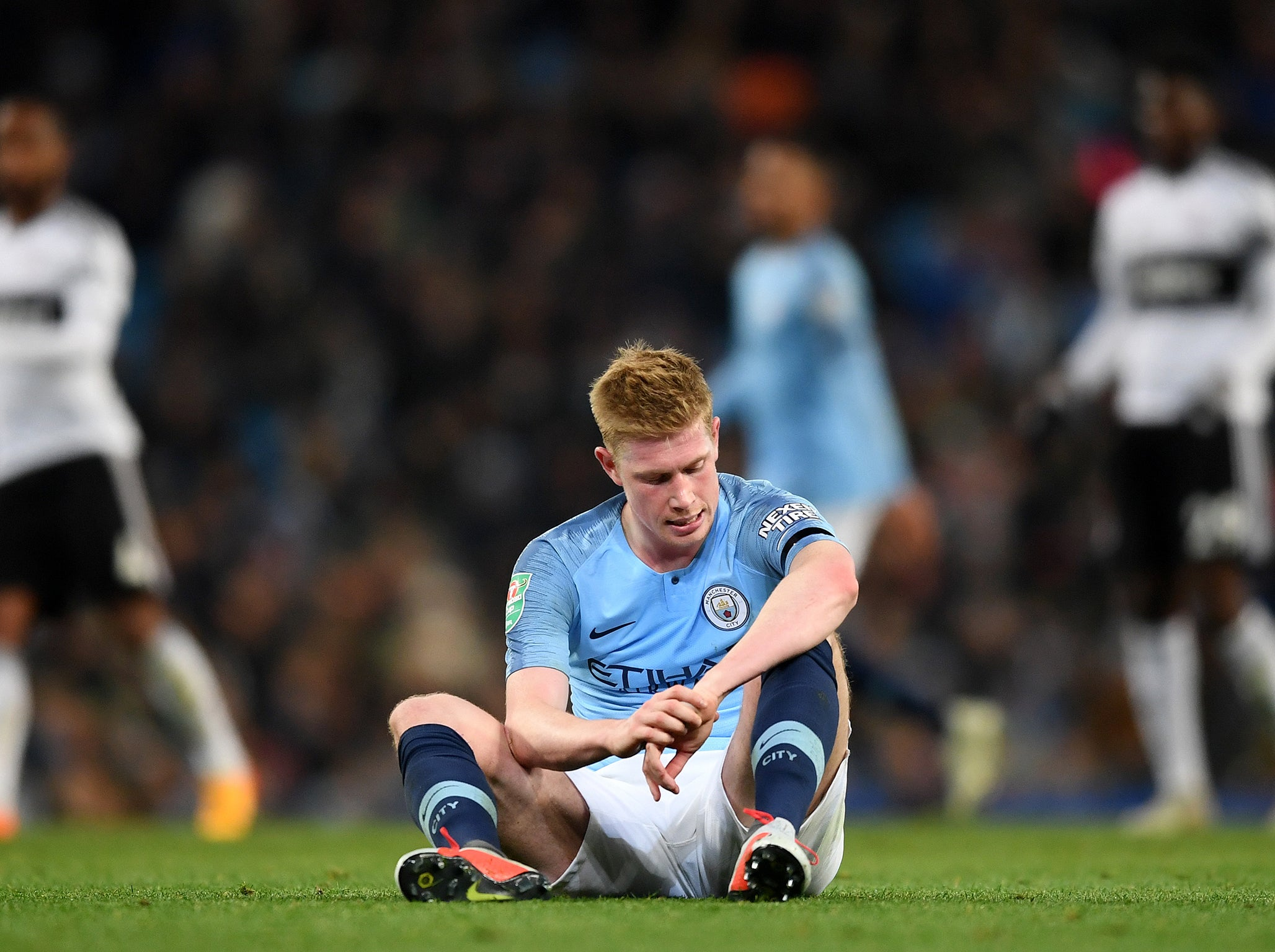 manchester city miss kevin de bruyne they must hope their patient approach to his. Black Bedroom Furniture Sets. Home Design Ideas