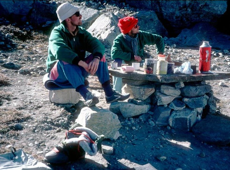Kristinn Runarsson (left) and Thorsteinn Gudjonsson were last seen in 1988