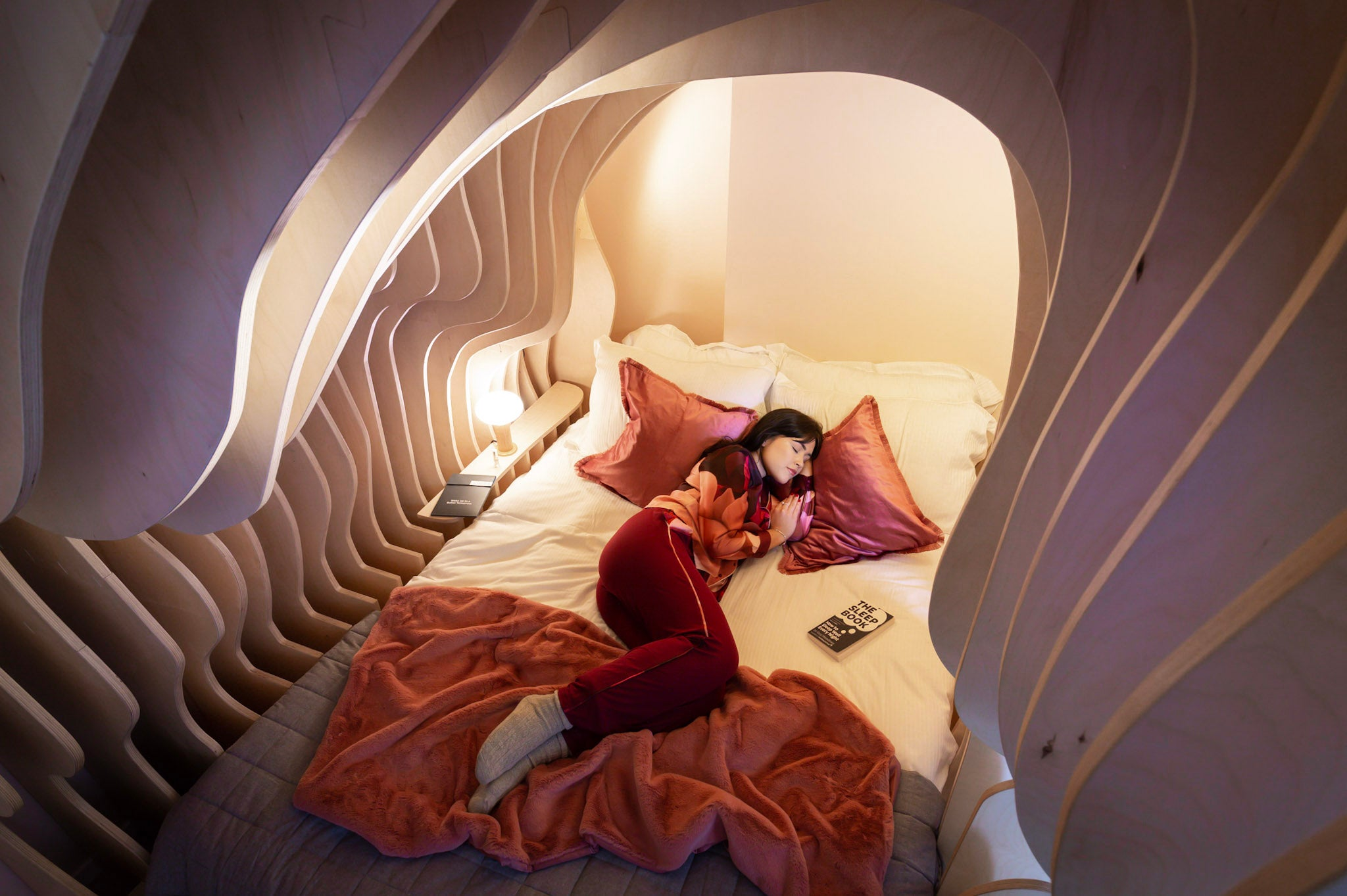 Hotel launches womb rooms to help guests 'sleep like a baby'