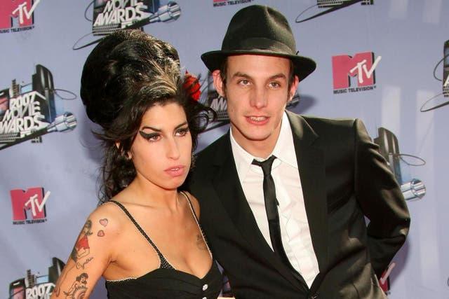 Amy Winehouse and Blake Fielder-Civil in 2007