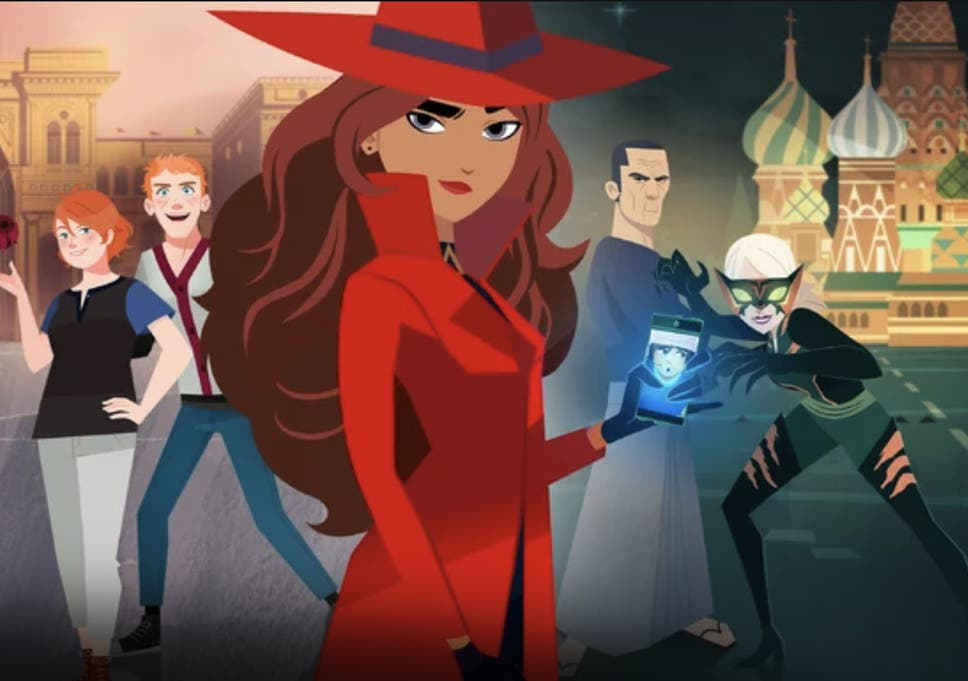 Carmen Sandiego  Netflix reboot with Gina Rodriguez and Finn Wolfhard gets  poster and release date 4f6419d88a5a