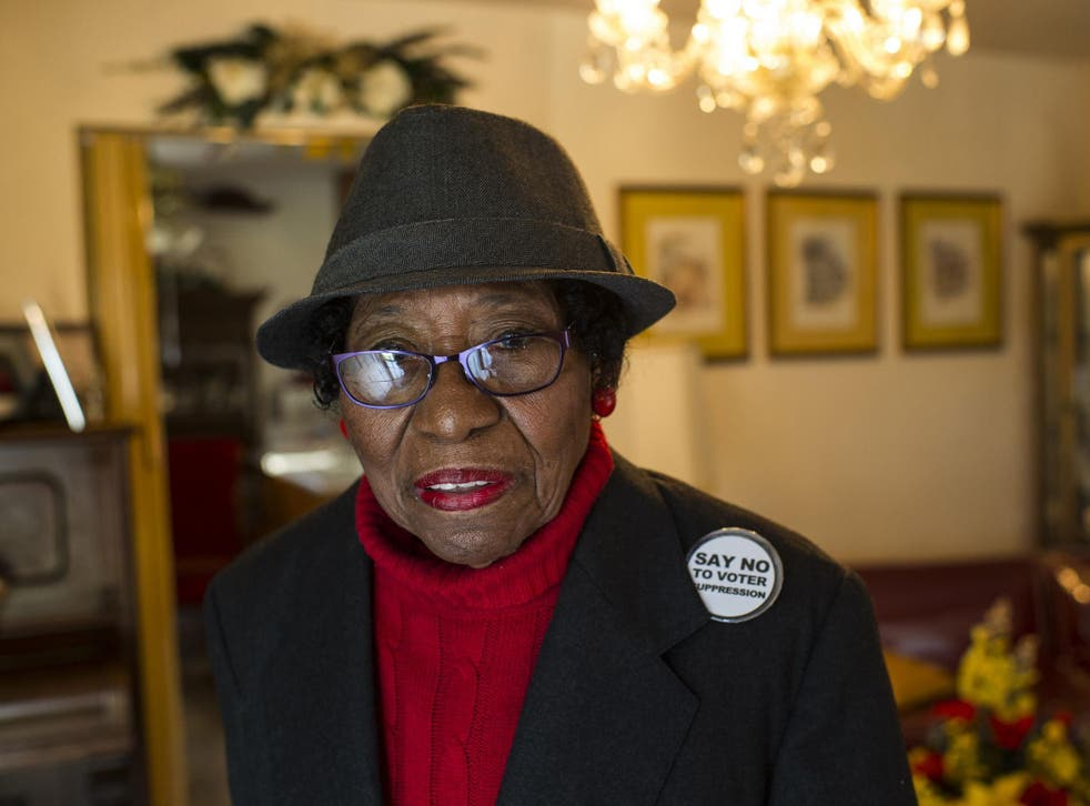 Eaton was an unyielding advocate of voting rights