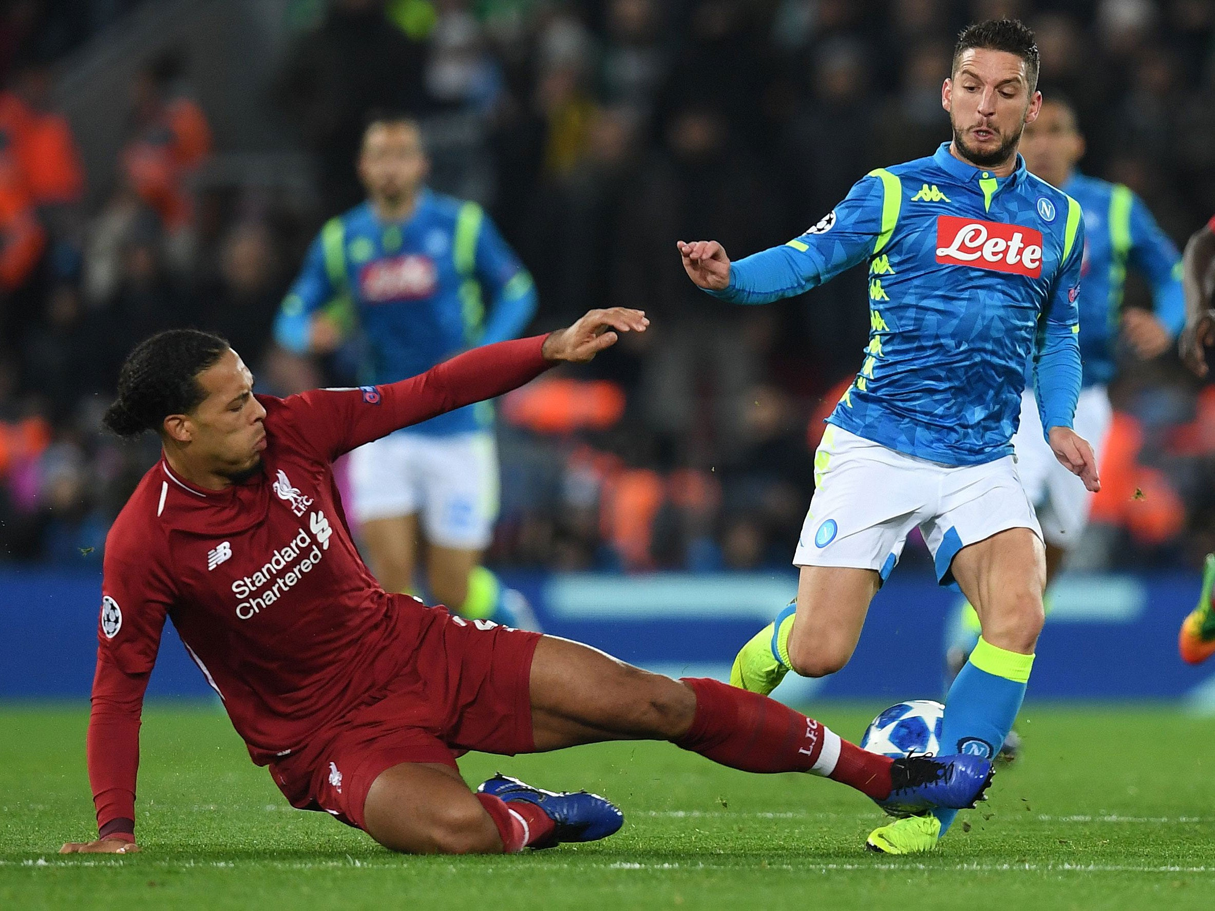 Liverpool Vs Napoli Virgil Van Dijk Defends Himself On