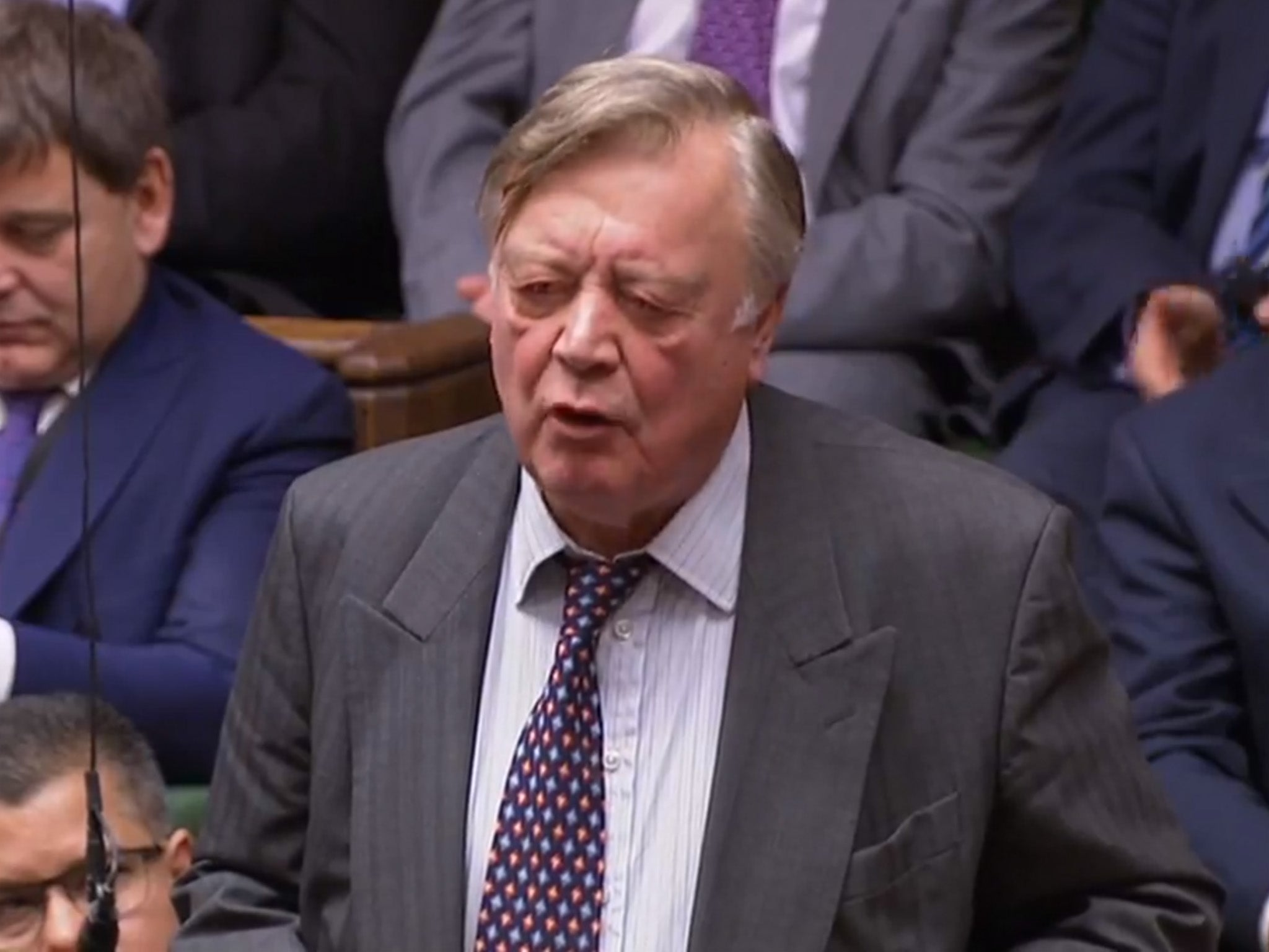Ken Clarke willing to be caretaker PM to stop no-deal Brexit as rebe…