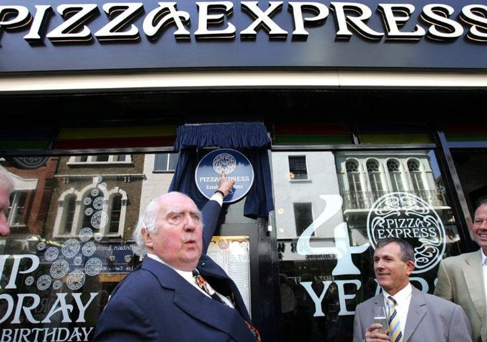 Peter Boizot Pizza Express Founder Whose Chic Take On Fast