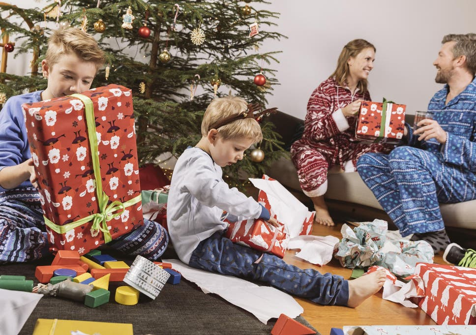 Britons want snow and seven presents for perfect Christmas Day ...