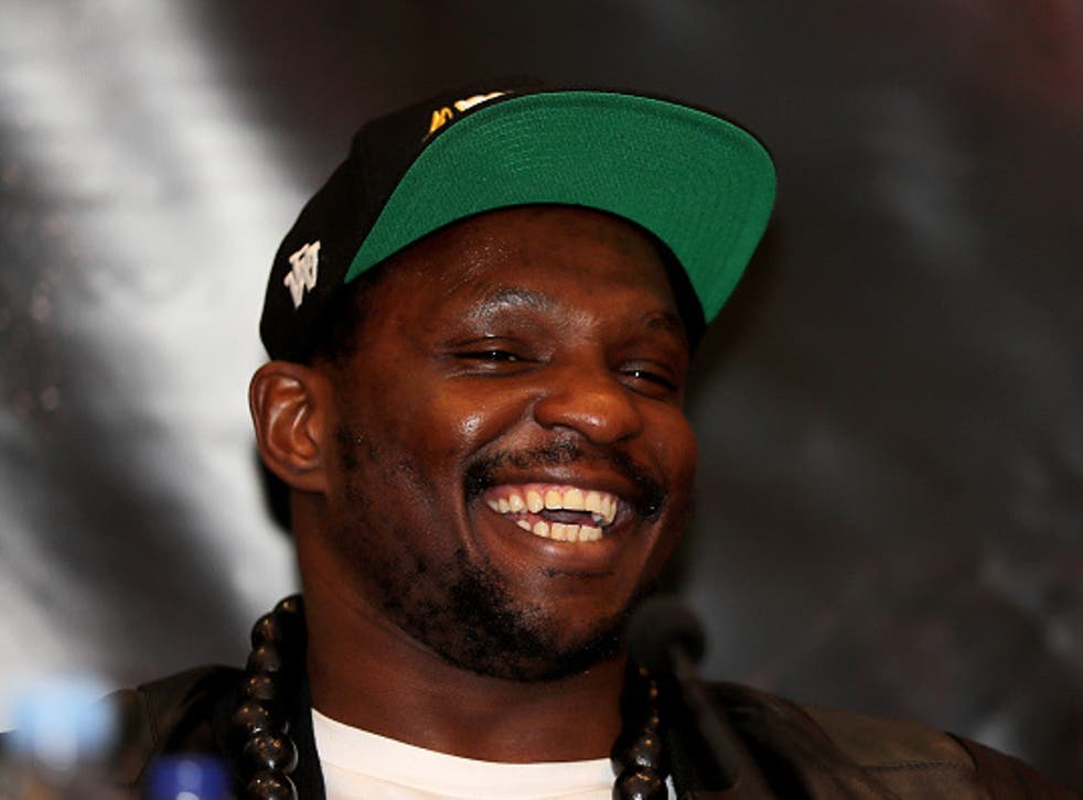 Dillian Whyte has won eight consecutive bouts since being defeated by Anthony Joshua