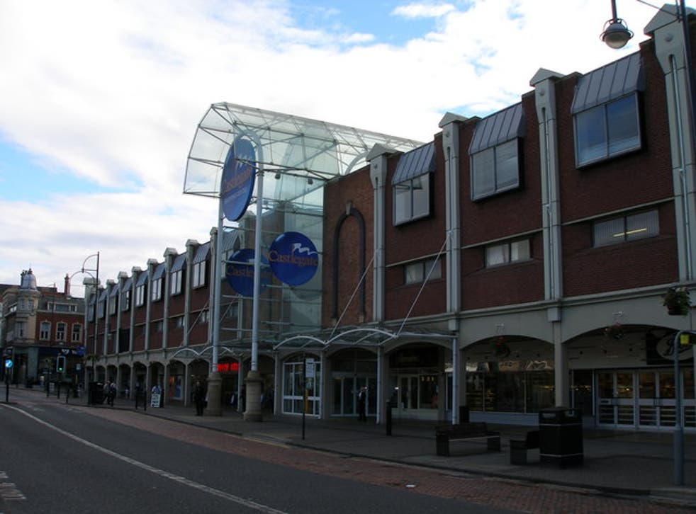 Castlegate Shopping Centre in Stockton-upon-tees