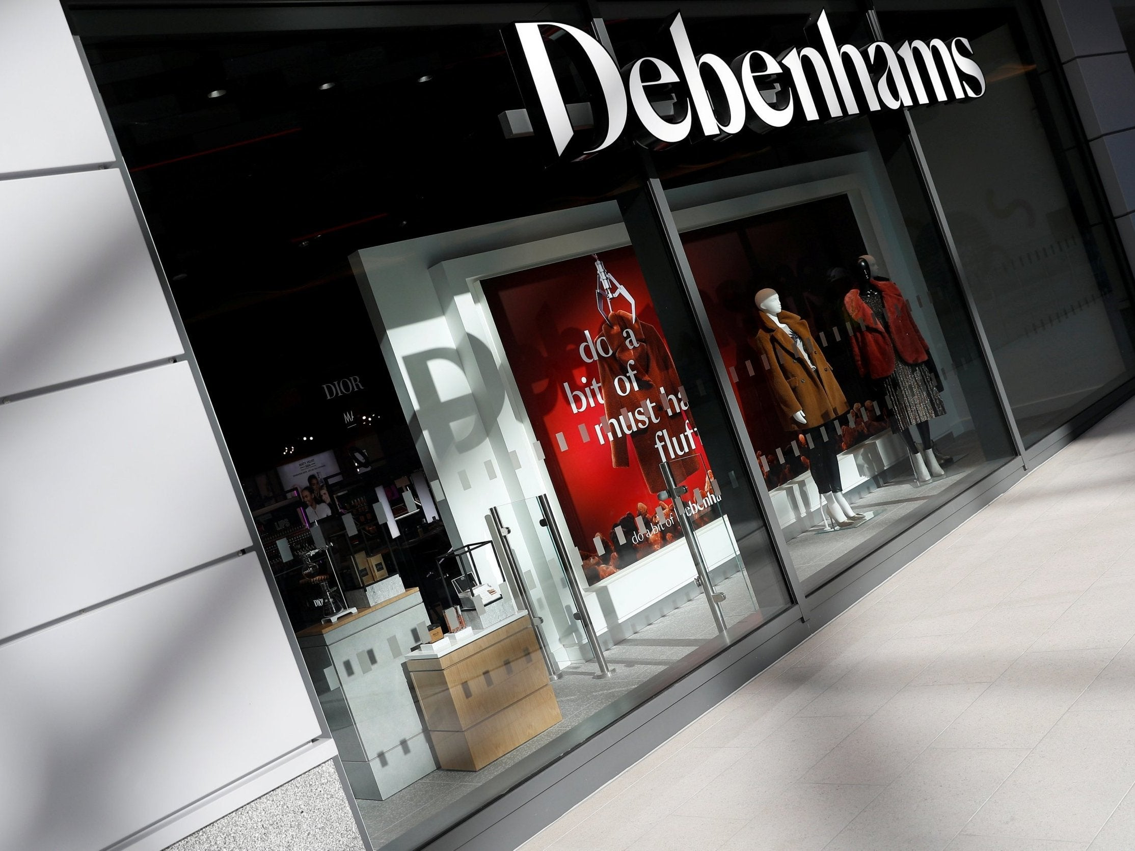 c2d317b4224 Debenhams falls into administration as lenders take control | The ...