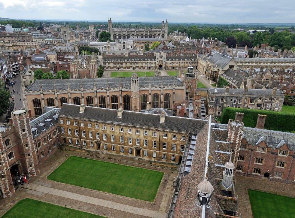 File photo dated 29/05/14 of buildings belonging to Cambridge University.