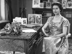 How the Queen's Christmas speech was first televised in 1957
