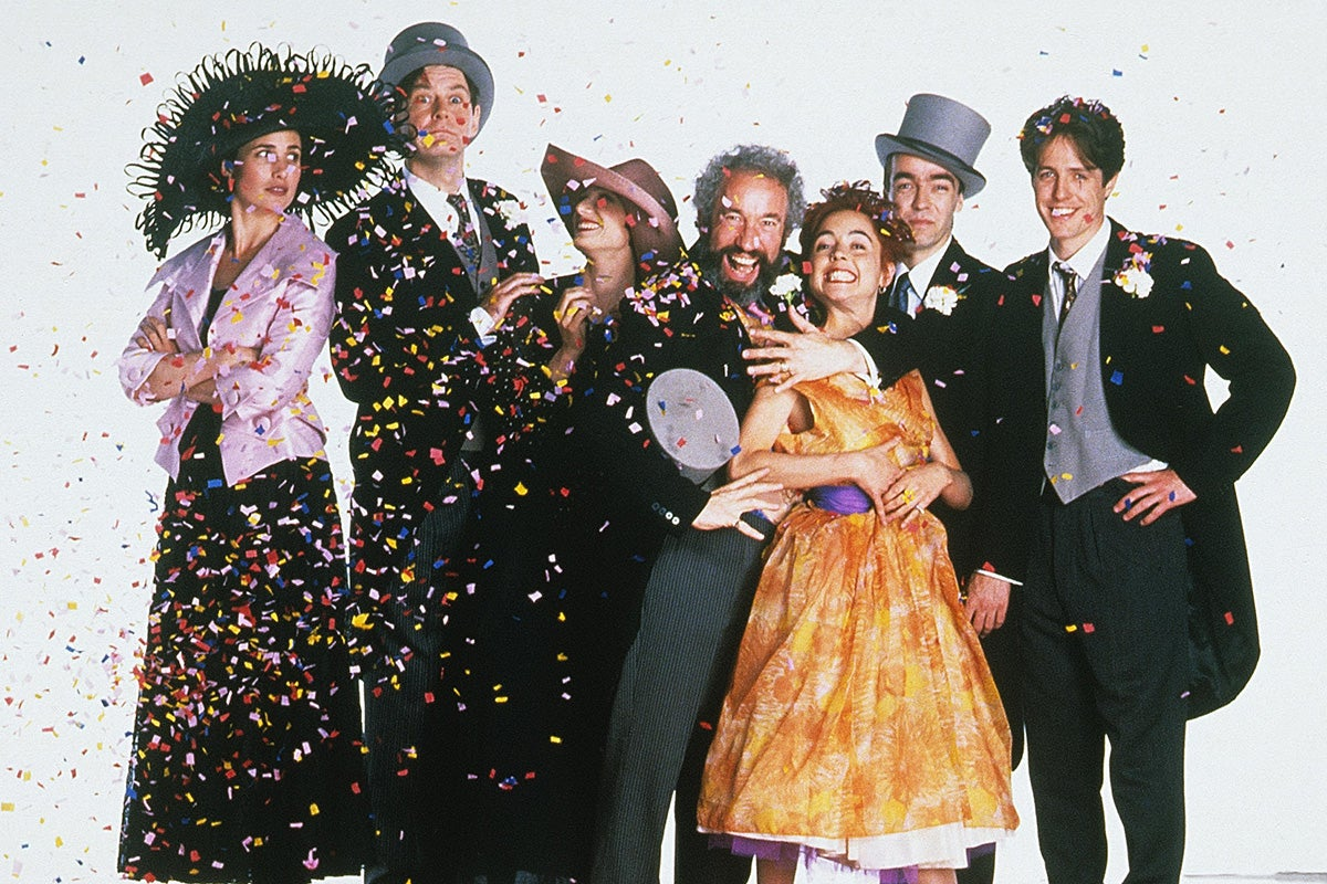 TRACI: Four weddings and a funeral smoke gets in your eyes