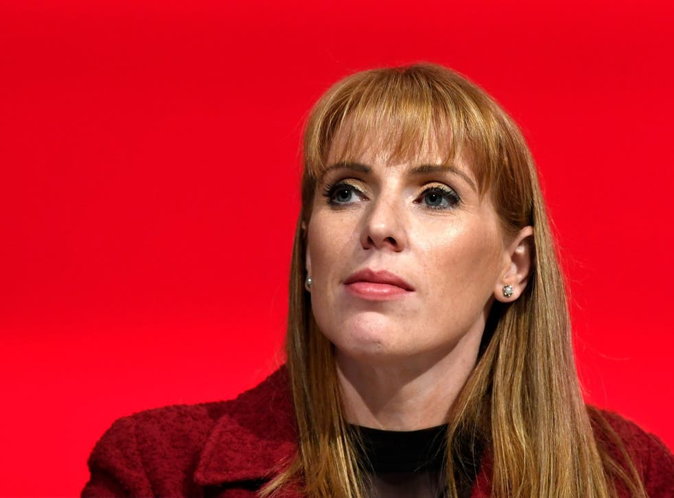 Shadow education secretary Angela Rayner accused the Department for Education of breaking a promise on school funding