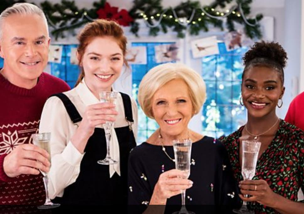 Mary Berry S Christmas Party Review This Show Is Festive Escapism