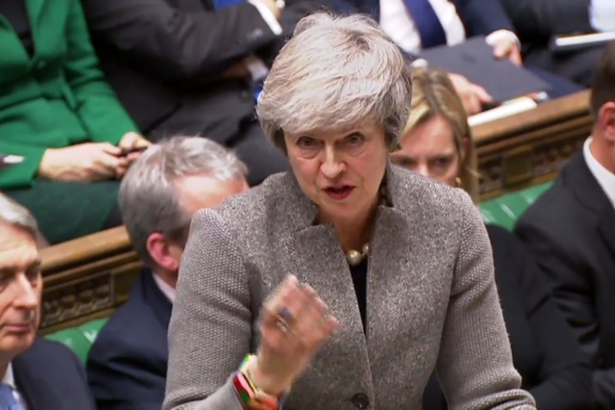 Theresa May stood up in parliament and said she had to 'honour her duty' to Brexit. She couldn't have been more wrong