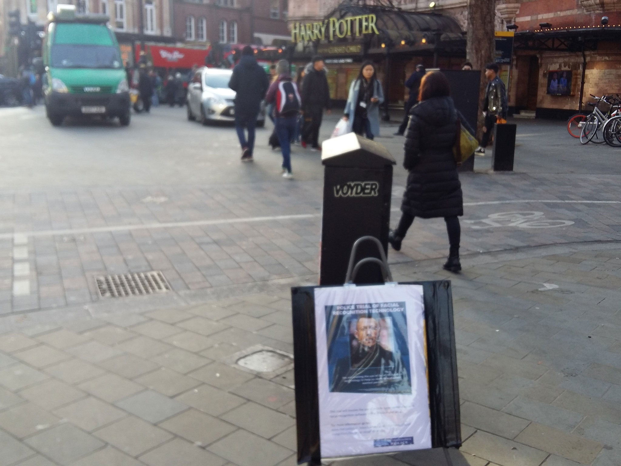 Face detection cameras that scan unwitting tourists and Christmas buyers in London's West End - The Independent