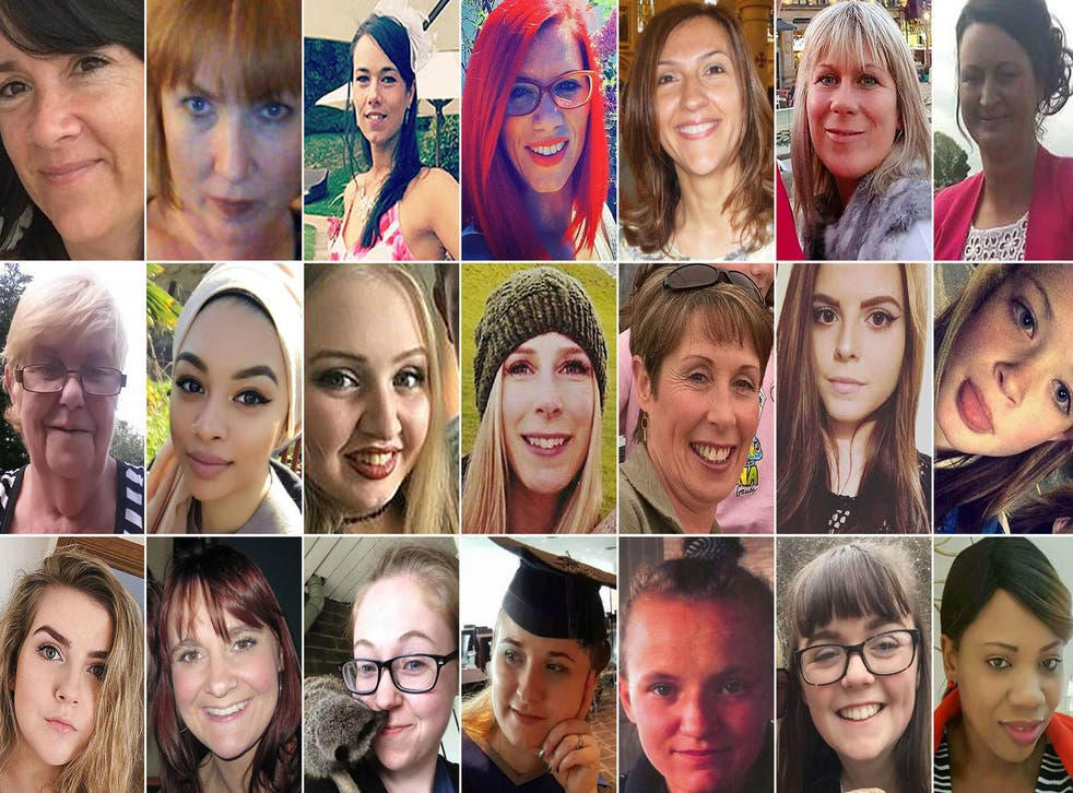 Three quarters of women murdered by a man last year were killed by someone they knew, while almost half of women killed by a man last year were killed by a partner or former partner