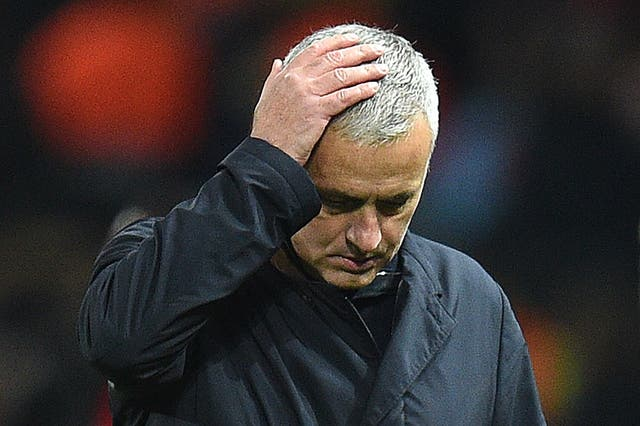 Mourinho'sfinal match as United manager came in a 3-1 loss to Liverpool