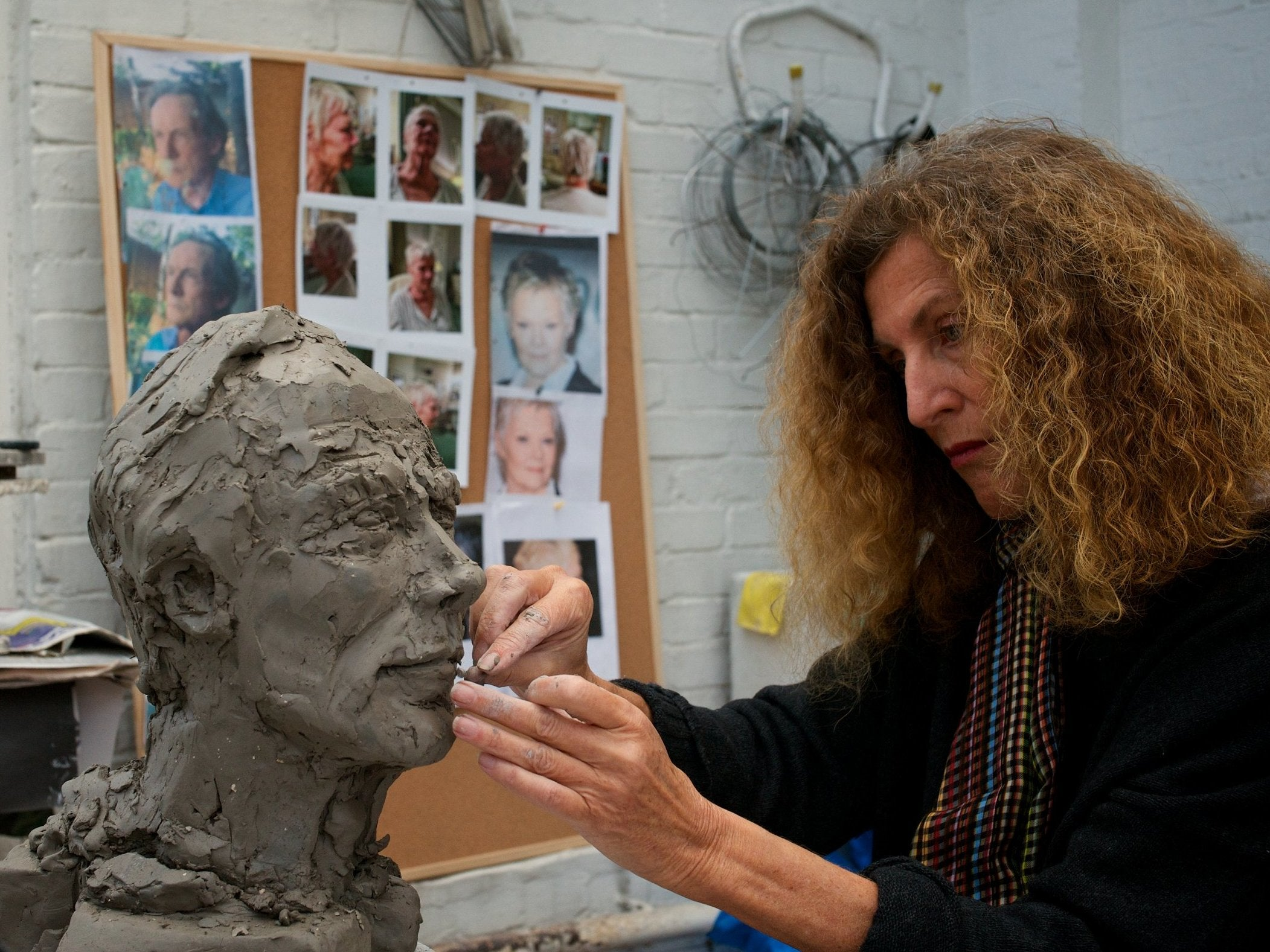 05b0428b94 Nicole Farhi walked away from fashion to sculpt – she didn t look back.