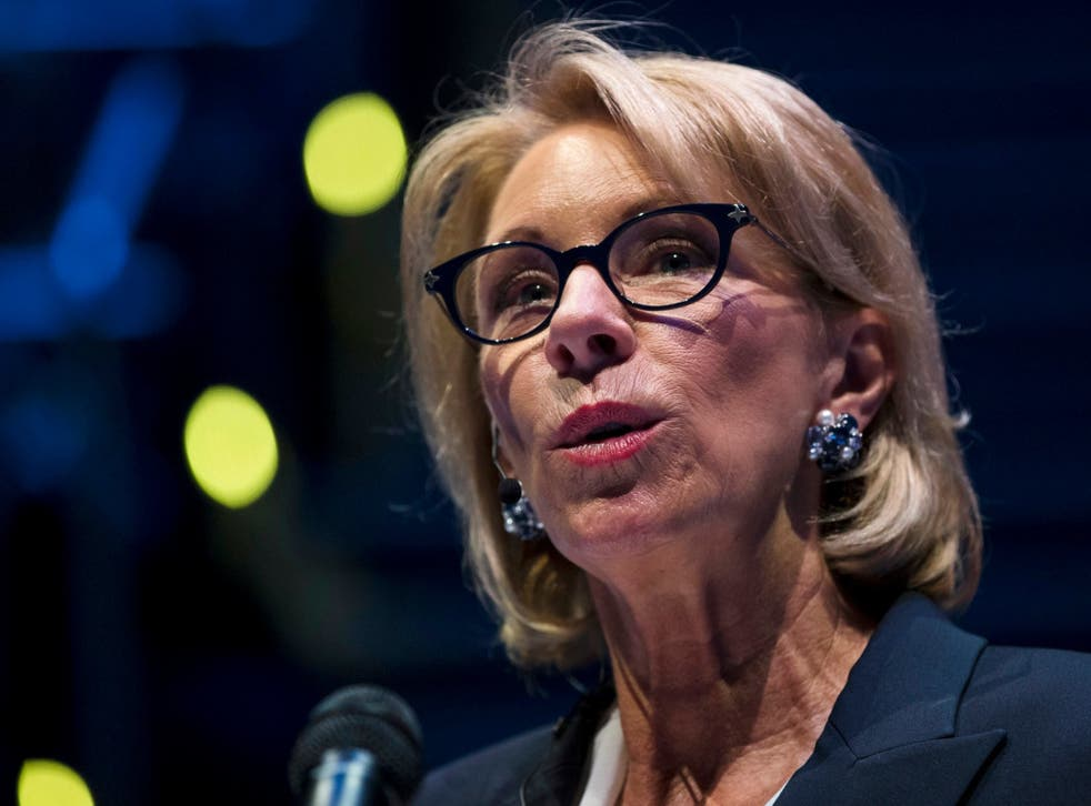 The Education Department has been bombarded with tens of thousands of comments responding to Education Secretary Betsy Devos' proposed rules