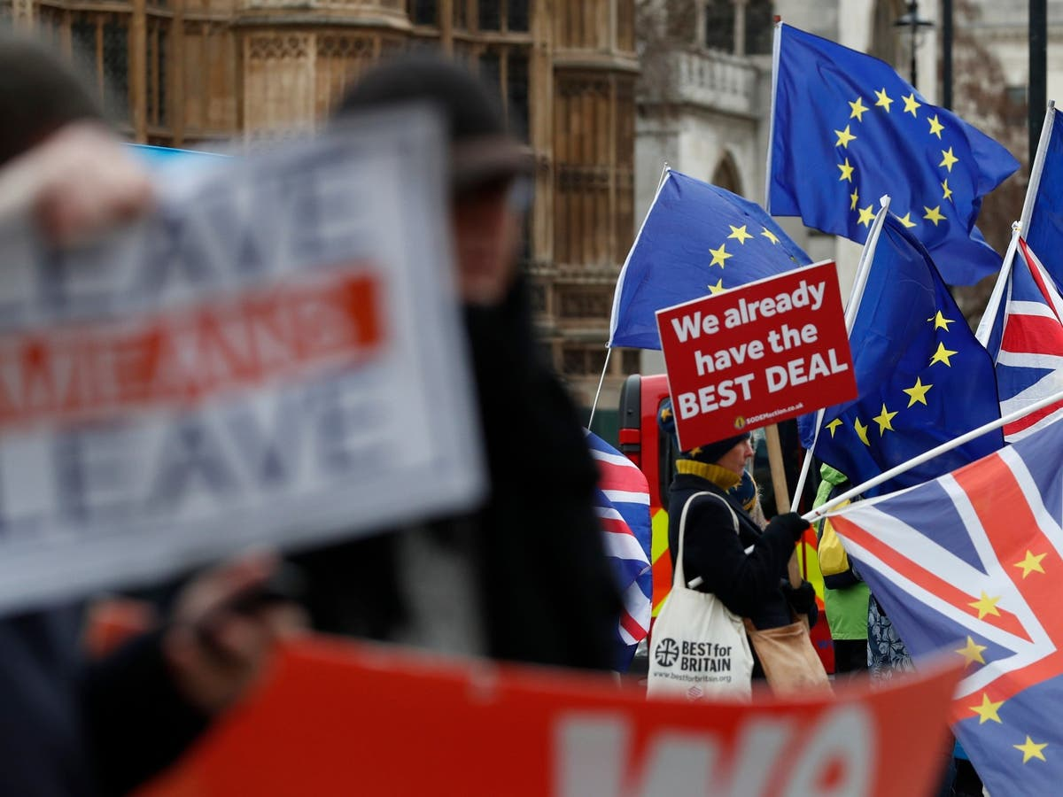 brexit stock leave deal protest eu flag jpg?width=1200&auto=webp&quality=75.