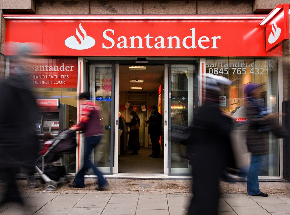 In some cases money was kept by Santander for years, the FCA said