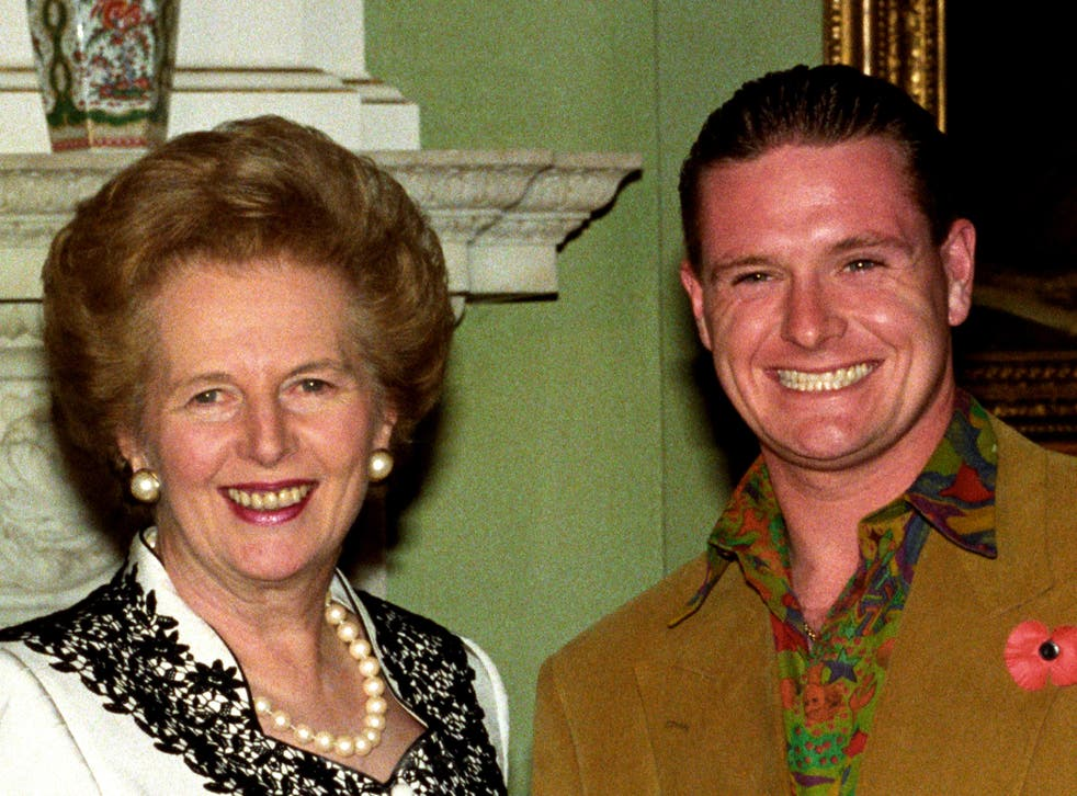 When Maggie met Gazza: the former PM with Paul Gascoigne in 1990