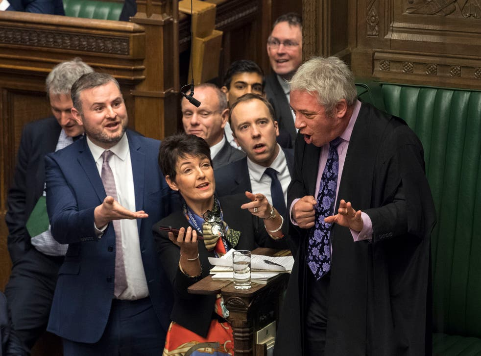 Was this the image that summed up Britain's political year?