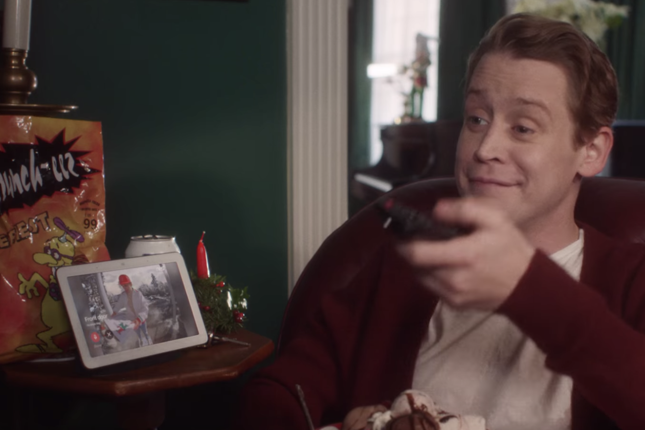 Google Home Alone Commercial Macaulay Culkin Recreates Iconic