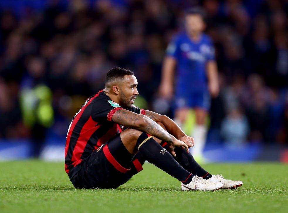 Callum Wilson was helpless as Chelsea beat Bournemouth