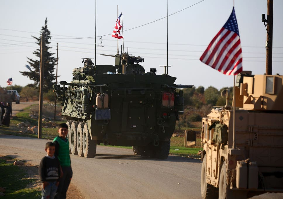 American soldiers aren't dying for our freedom in Syria