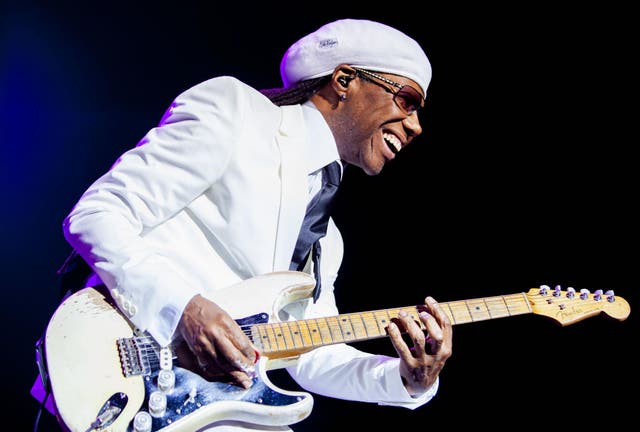 Good times: Nile's still got the funk, and when you hear the sound of the strings of that famous chop-guitar, you can feel it