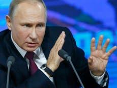 Putin warns against second Brexit referendum