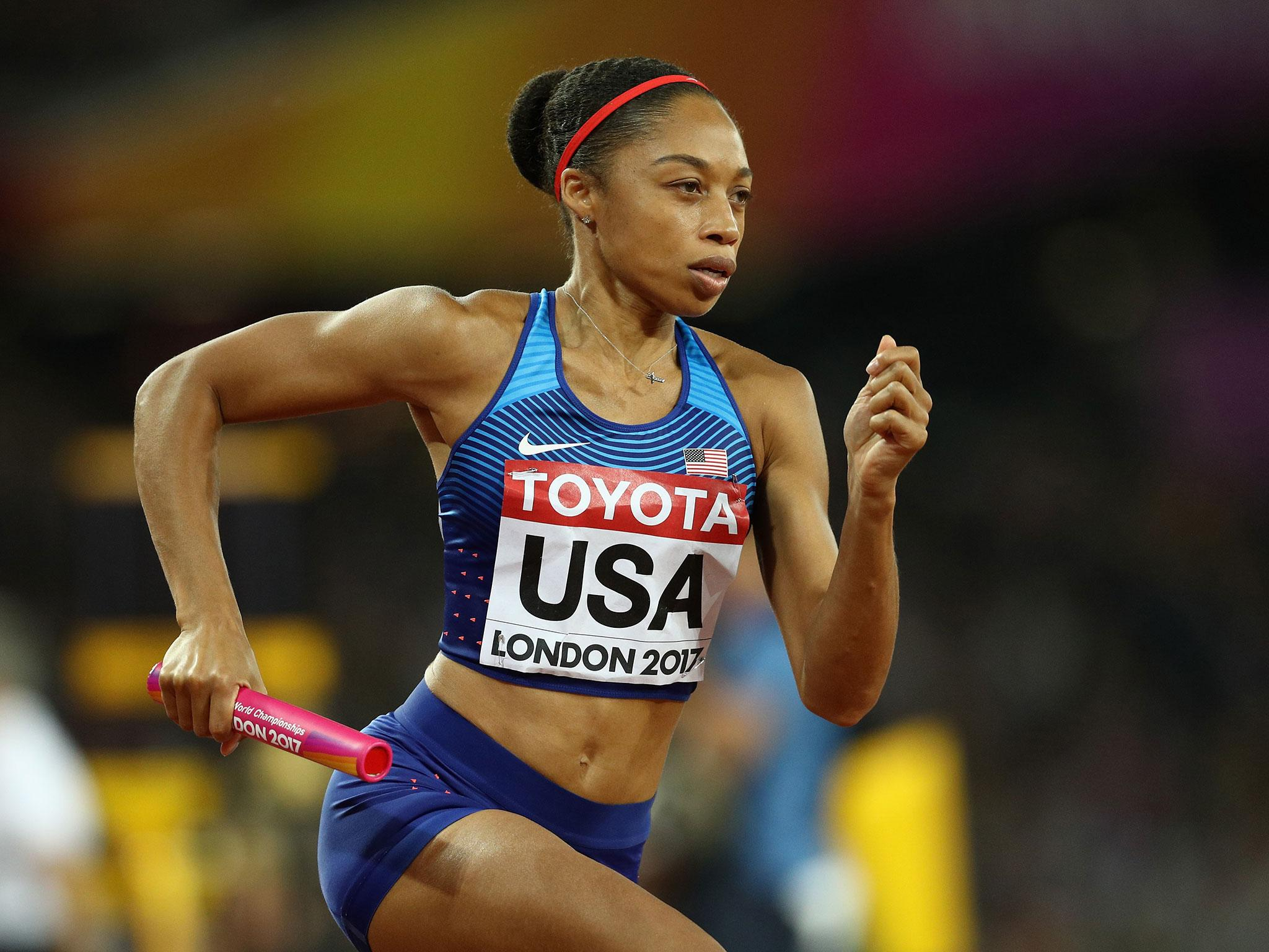 Watch Allyson Felix 6 Olympic medals video