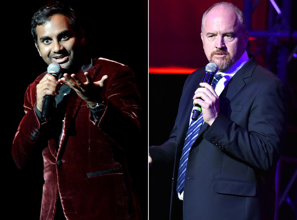 Aziz Ansari and Louis CK have both returned to the stage