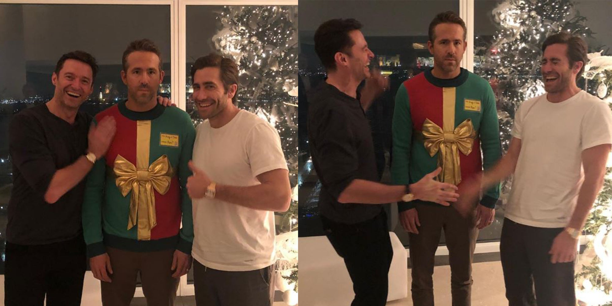 Hugh Jackman and Jake Gyllenhaal have hilariously trolled