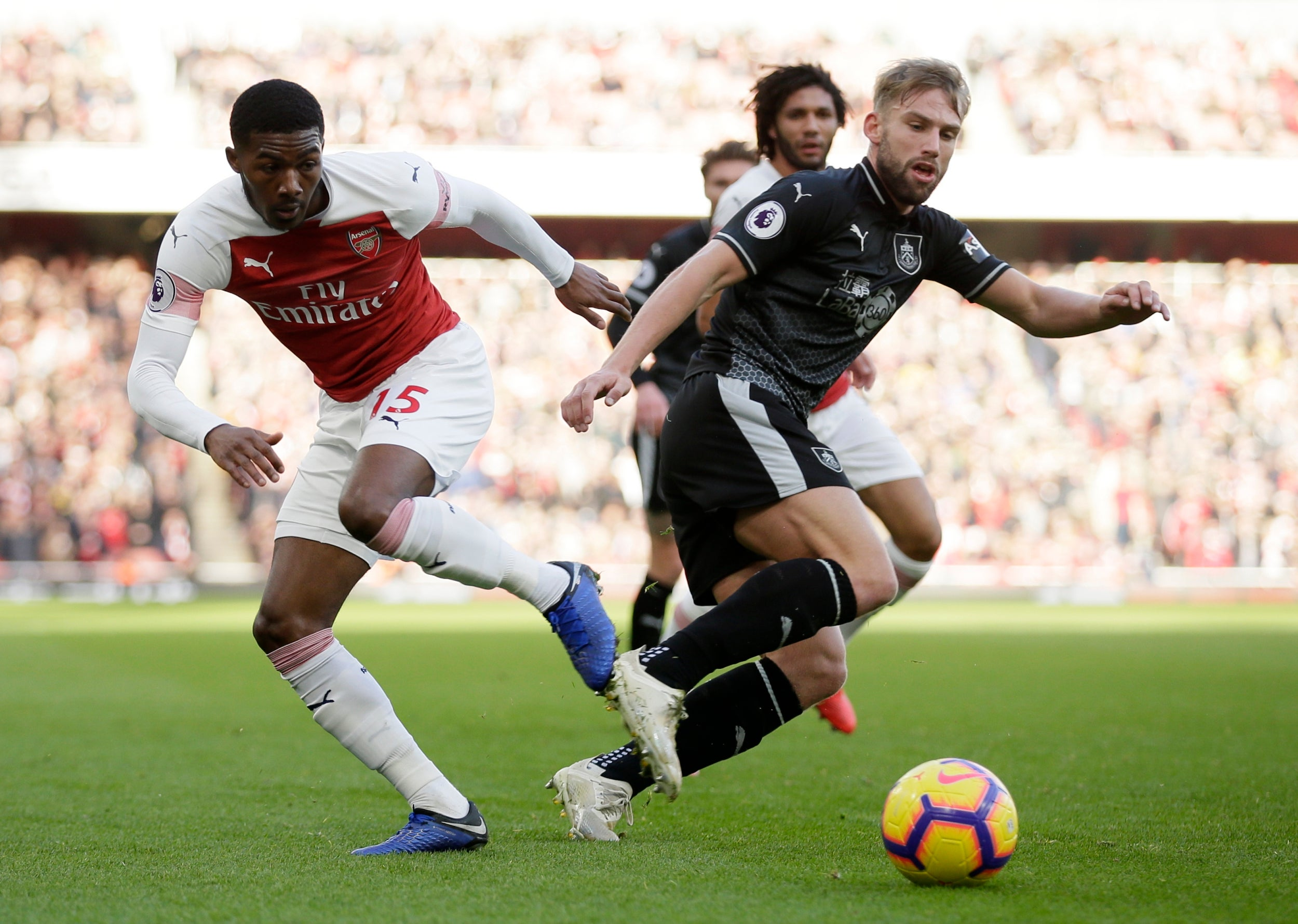 Arsenal vs Burnley: Mesut Ozil steals the show as Gunners
