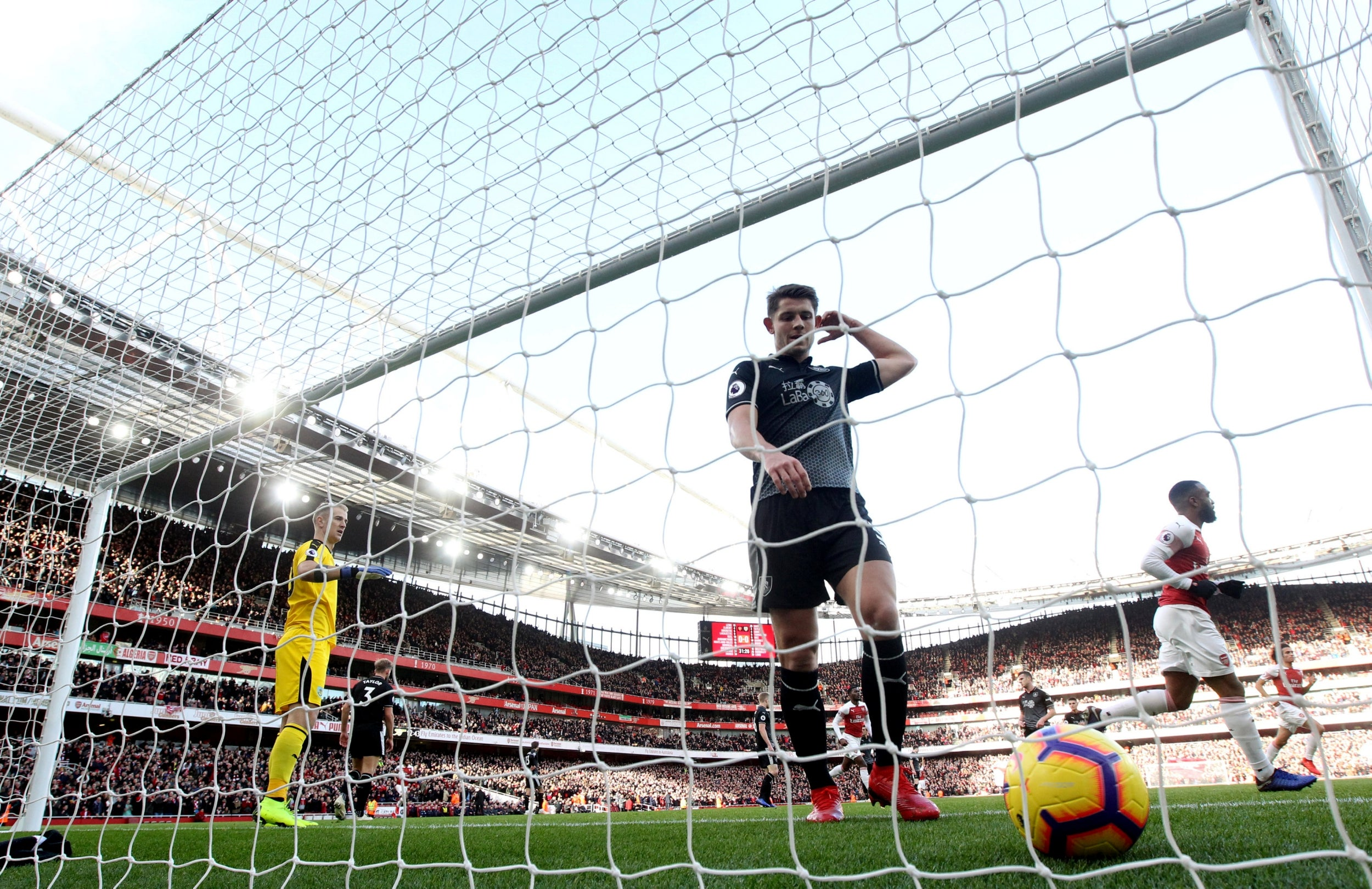 Arsenal vs Burnley: Mesut Ozil steals the show as Gunners