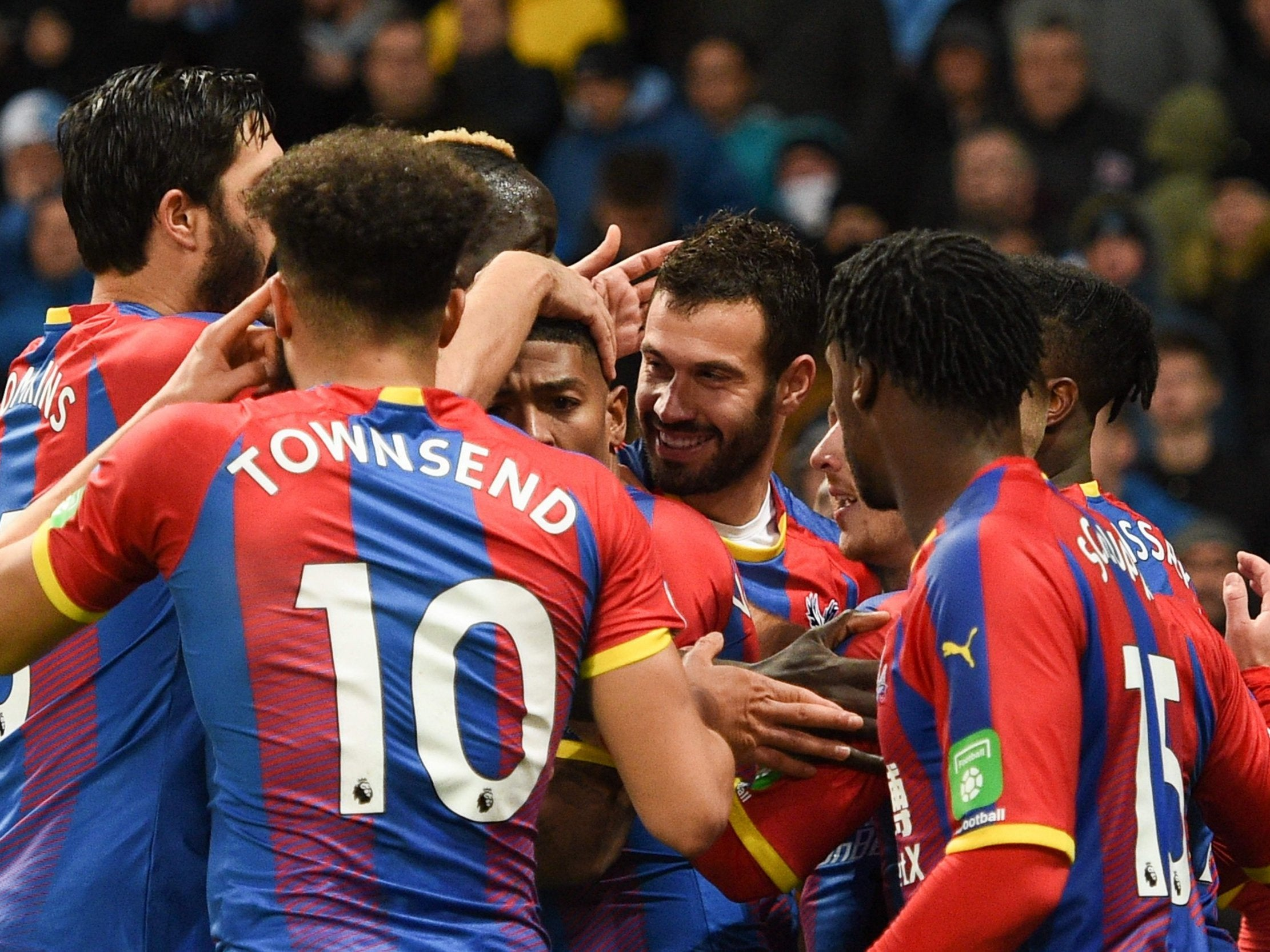 Manchester City Vs Crystal Palace Stunning Defeat Hands Liverpool The Edge In Title Race The Independent