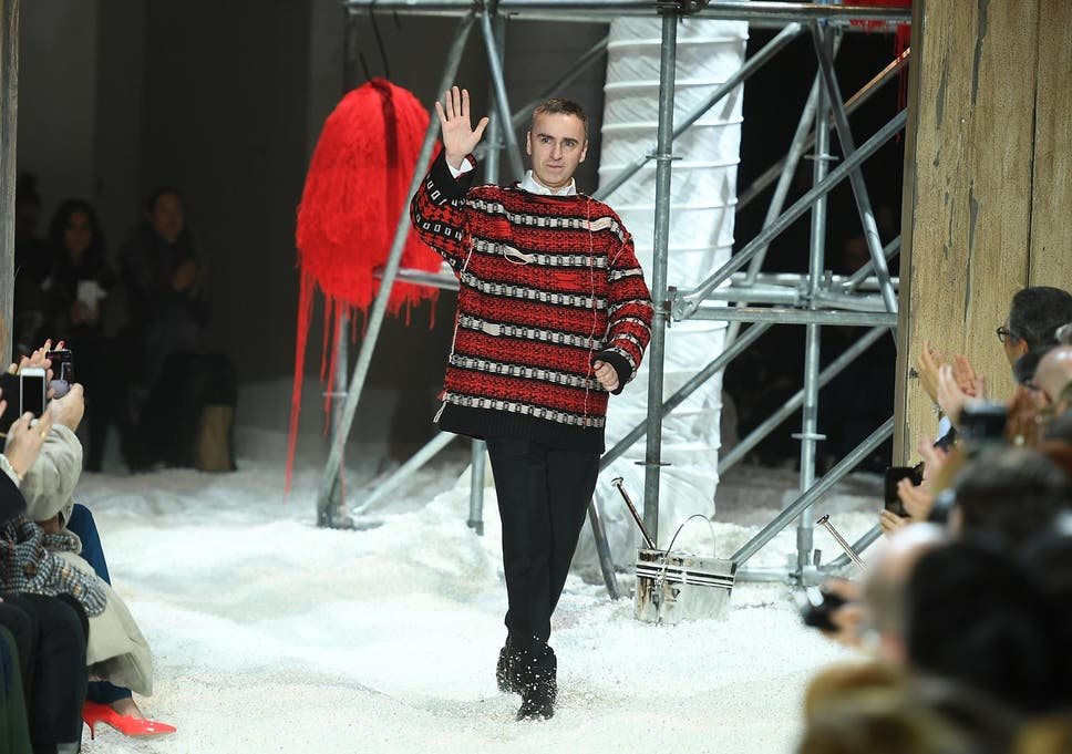 791701a8426c1 Calvin Klein announces departure of Raf Simons as chief creative officer