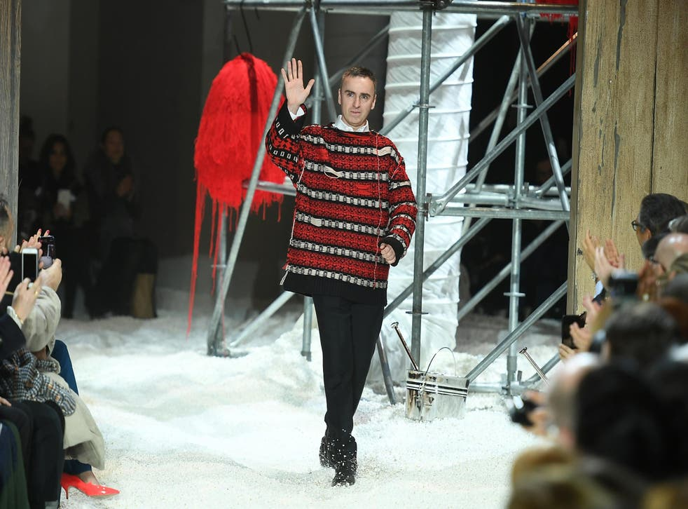 Calvin Klein will not be present at New York Fashion Week in February after announcing CEO Raf Simons is stepping down