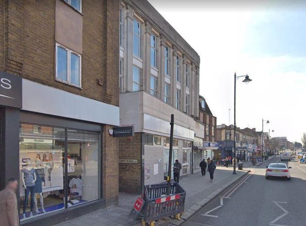 A man in his 20s was found stabbed in Albert Place off Tottenham High Road in the London borough of Haringey