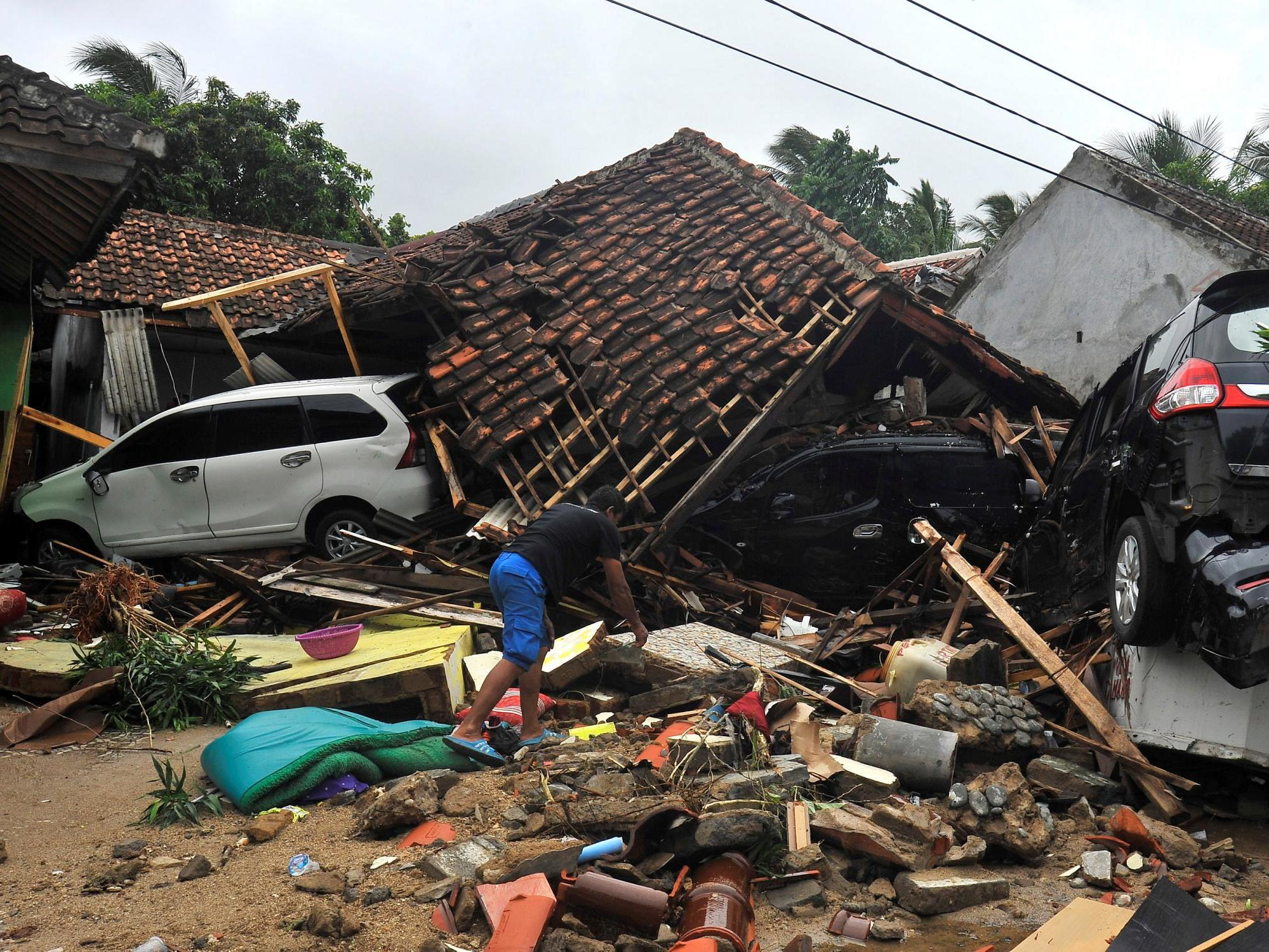 Asian tsunami of 2018 witness accounts